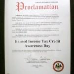 EITC Proclamation 2009